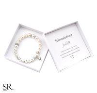 Geschenk Schwester Armband