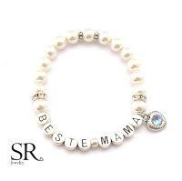 Perlenarmband Beste Mama günstig bei SR Jewelry kaufen