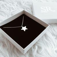 Stern Kette 925 Silber