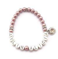Namensarmband ganz einfach online gestalten. Personalisiertes Armband mit Namen.