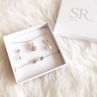 Brautschmuck Set mit Perlen kaufen