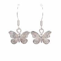 Schmetterling Ohrhänger 925 Silber