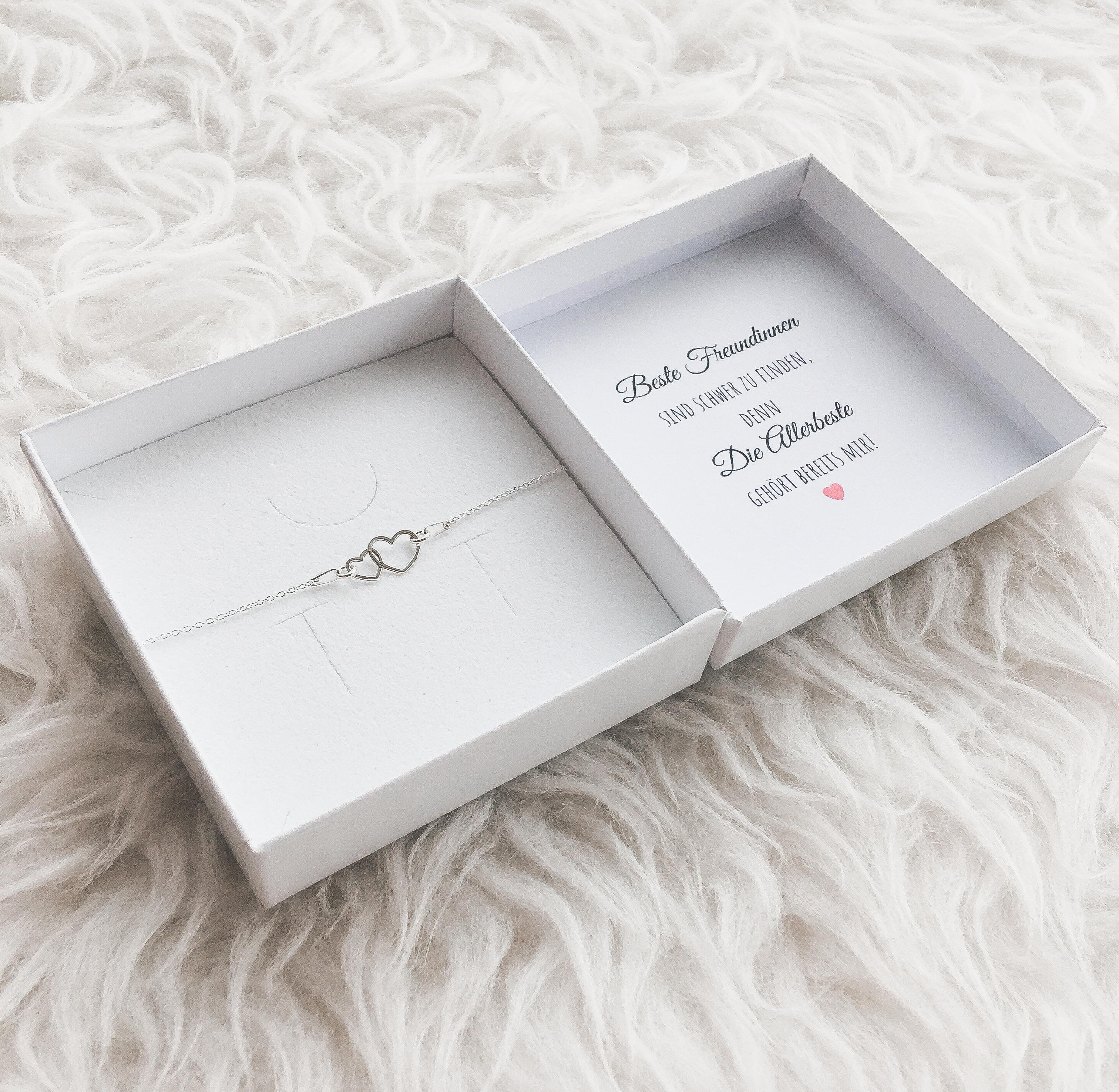 Herz Armband Silber Mit Geschenkbox Kaufen Sr Jewelry