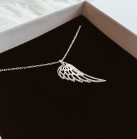 Flügel Kette Silber