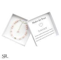 Geschenk Brautmutter Perlen Armband Brautmama Box kaufen