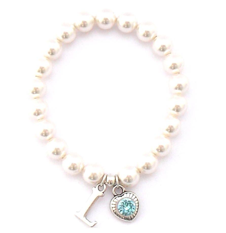 Buchstabe Mit KaufenSr Mit Perlenarmband Buchstabe Perlenarmband Jewelry KaufenSr CerxodB