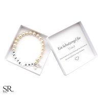 Geschenk Oma Armband Perlen personalisiert