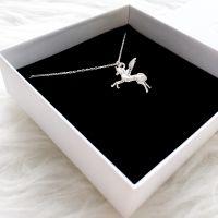 Einhorn Kette Silber 925