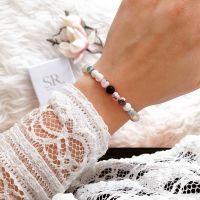Edelstein Armband bunt