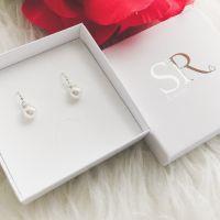 Braut Ohrringe Perlen