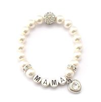 Geschenk Mama Armband personalisierbar
