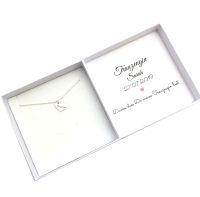 Trauzeugin Geschenk Kette mit Geschenkbox