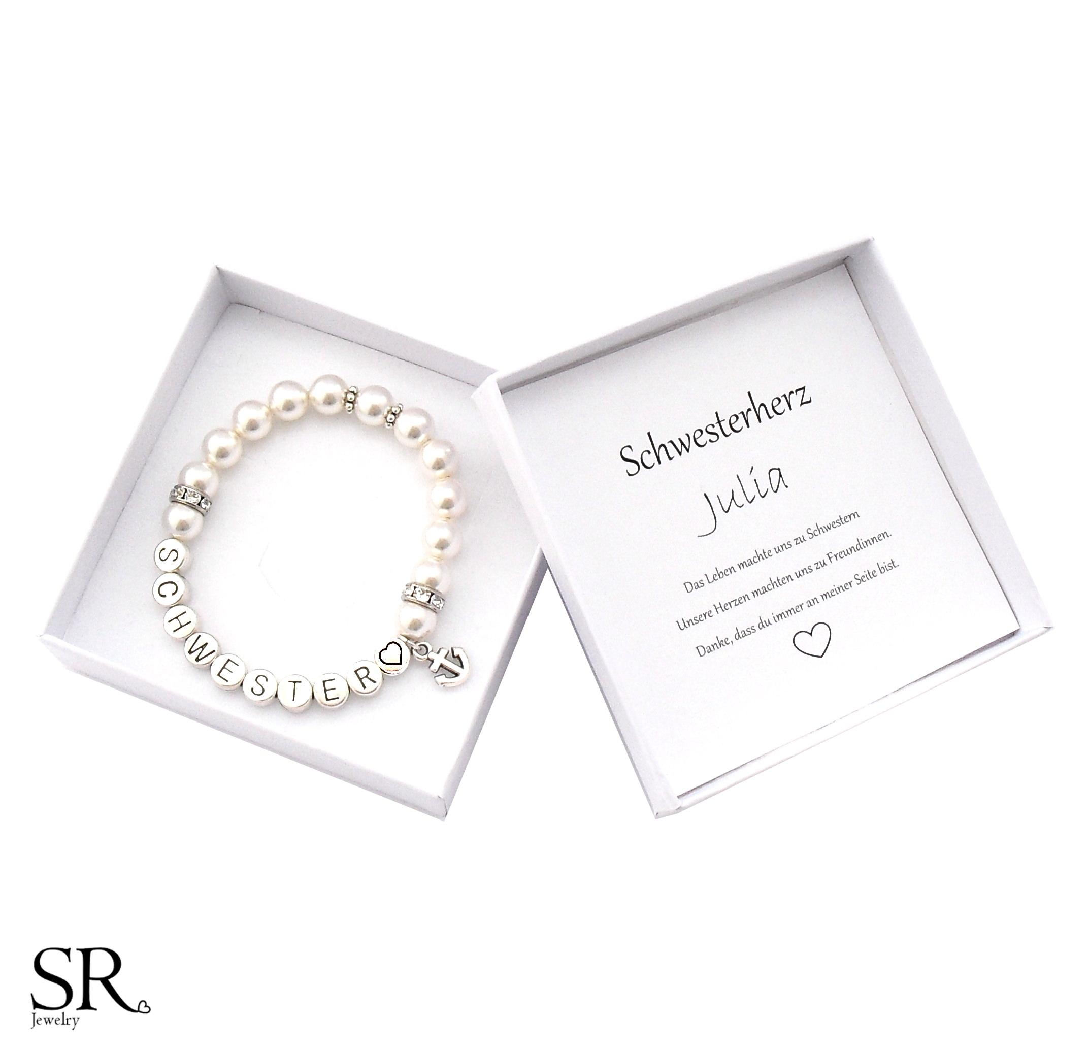 Schwester Armband Perlen online kaufen   SR Jewelry