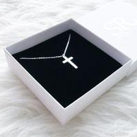 Kreuz Kette Silber 925