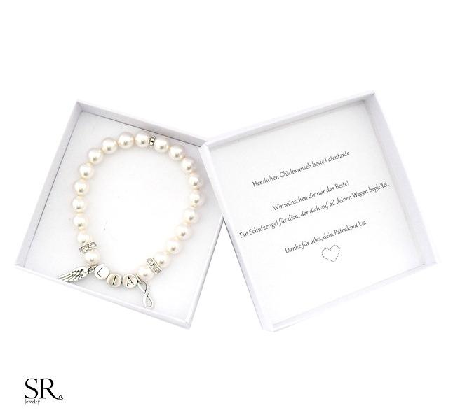 Patentante Geschenk personalisiert kaufen | SR Jewelry